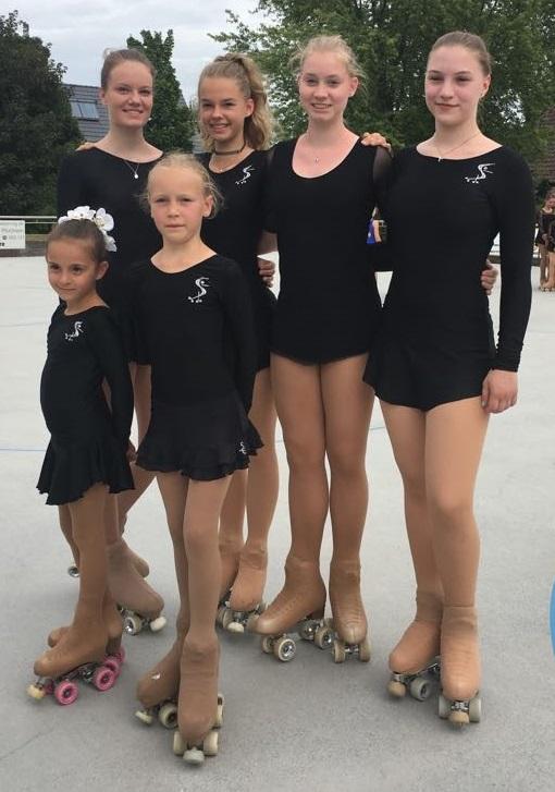 Alle Ettlinger Teilnehmerinnen der BM 2017